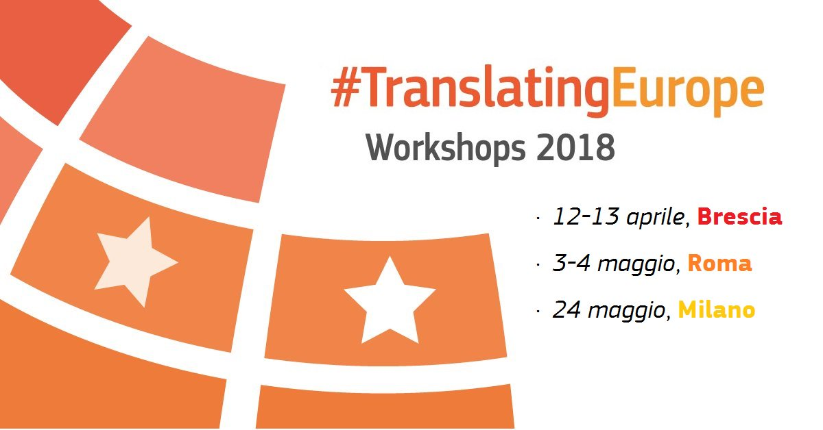Milano, 24 maggio 2018 #translatingeurope